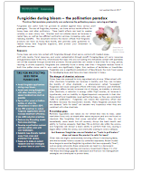 PDF cover of Fungicides During Bloom