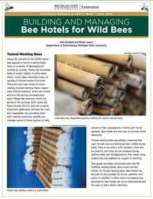 PDF cover of Building and Managing Bee Hotels
